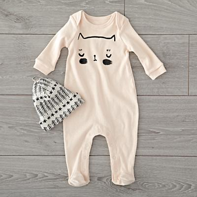 Footie_Pajama_Cat_Pink