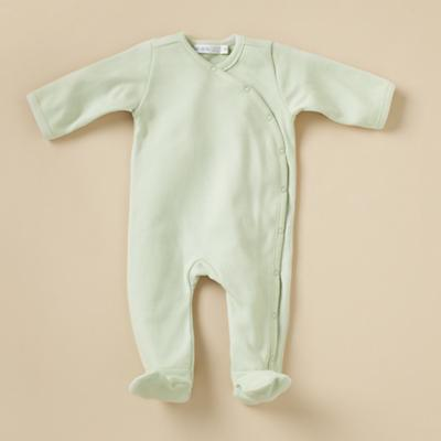3-6 mos. Footloose Footie (Green)