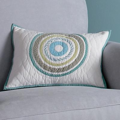 Full Circle Throw Pillow Cover