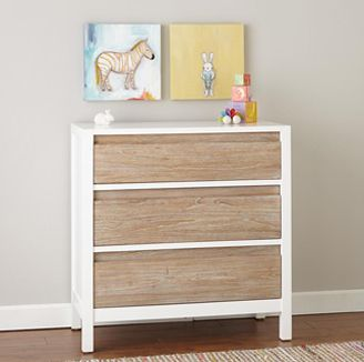 Andersen 3 Drawer Dresser Whitewash