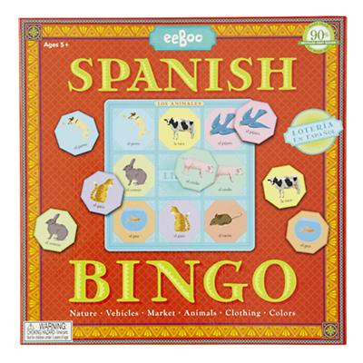 Multi-Lingo Bingo (Spanish)