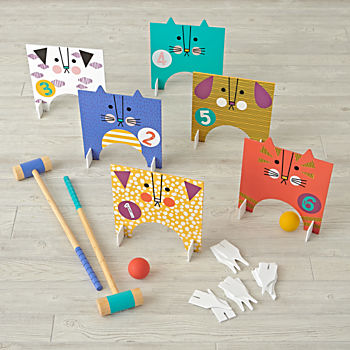 Indoor/Outdoor Pet Croquet