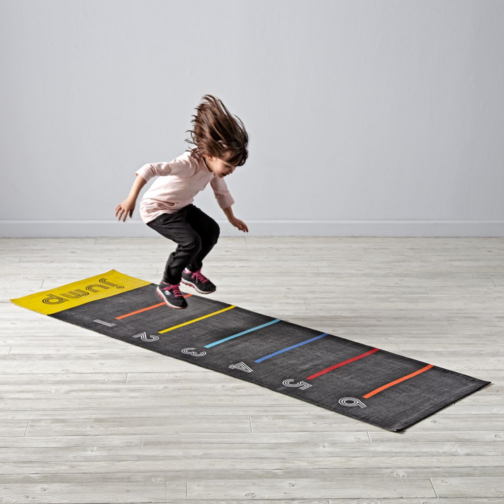 Leaping Long Jump Mat