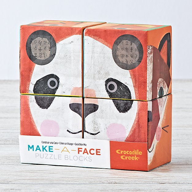 Make a Face Small Puzzle Blocks