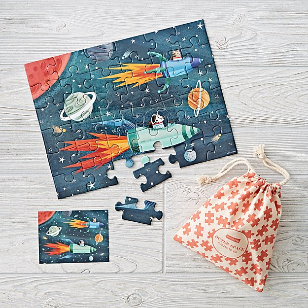 Outer Space 36-Piece Puzzle to Go