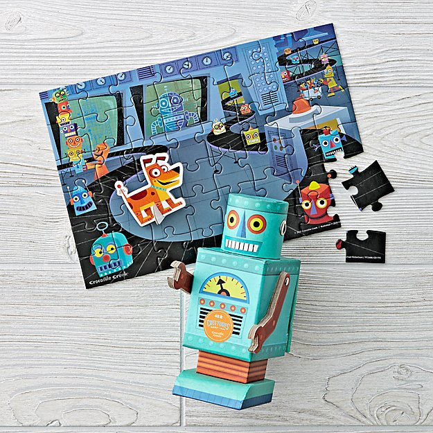Robot 48-Piece Puzzle and Play