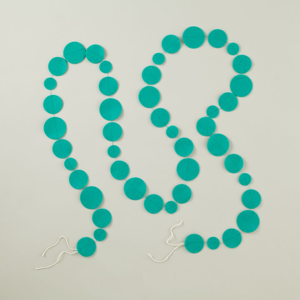 This Garland is Shaping Up (Teal)
