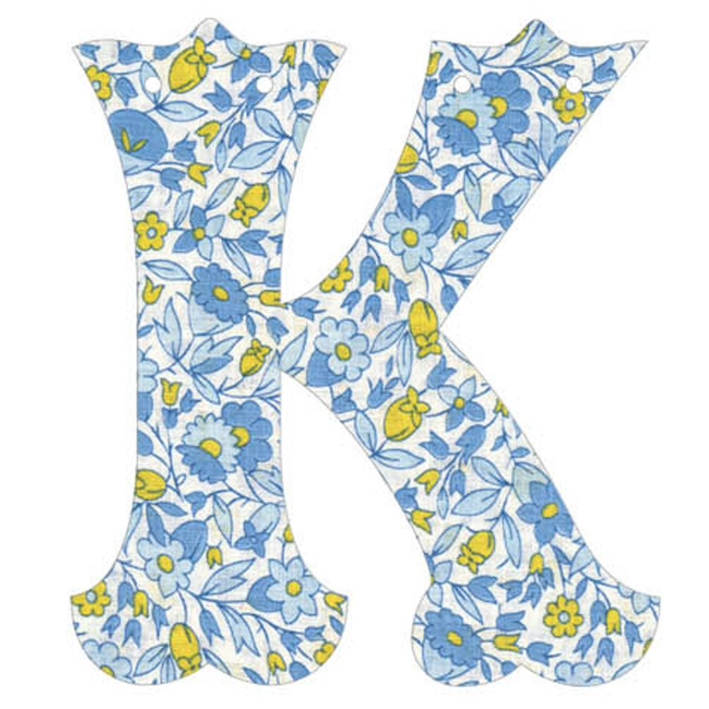 K Fancy Font Wallpaper Letter
