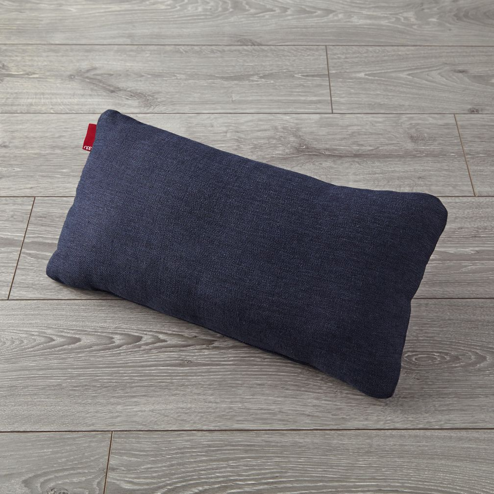 Milo Navy Lumbar Pillow