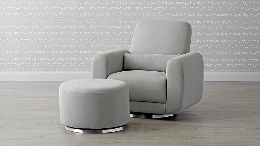 Babyletto Tuba Swivel Glider Chair and a Half