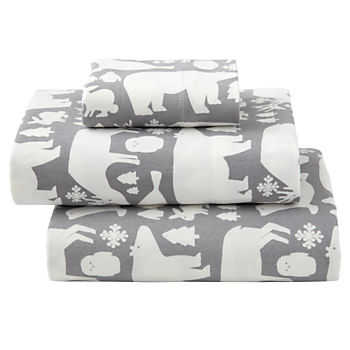 Great White North Flannel Toddler Sheet Set