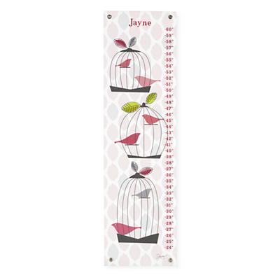 Personalized Birdcage Growth Chart