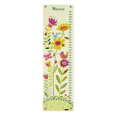Personalized Bloom Birdies Growth Chart