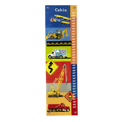 Personalized Real Transportation Growth Chart