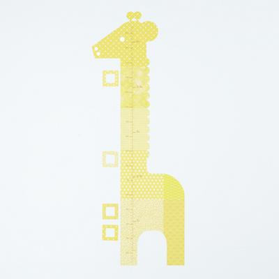 Growth Chart Giraffe Wall Decal
