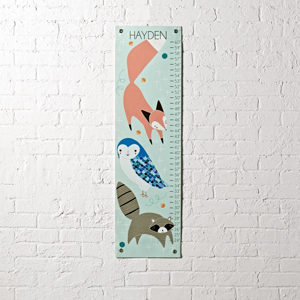Animal Trio Growth Chart