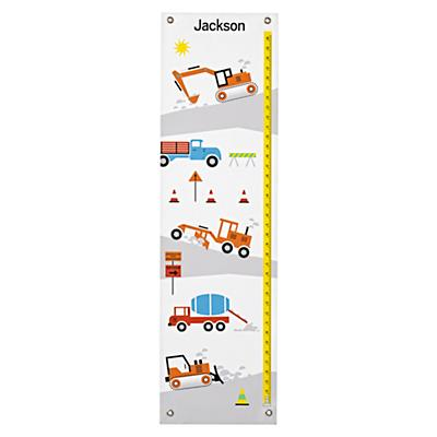 Personalized Construction Growth Chart