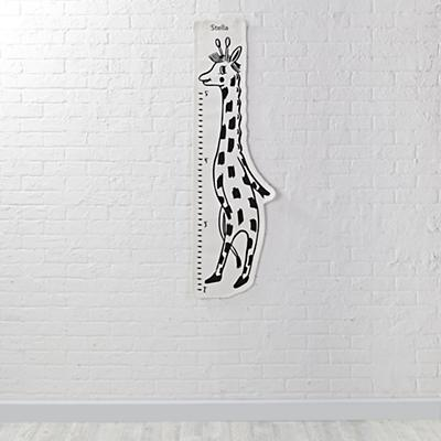 Personalized Dapper Growth Chart (Giraffe)