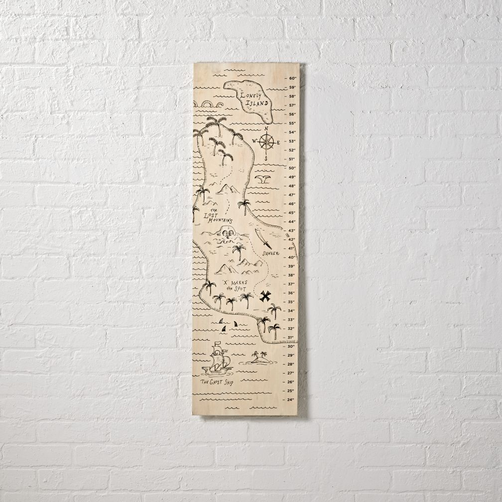 Treasure Map Growth Chart