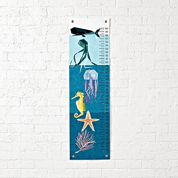 Sea Creatures Growth Chart
