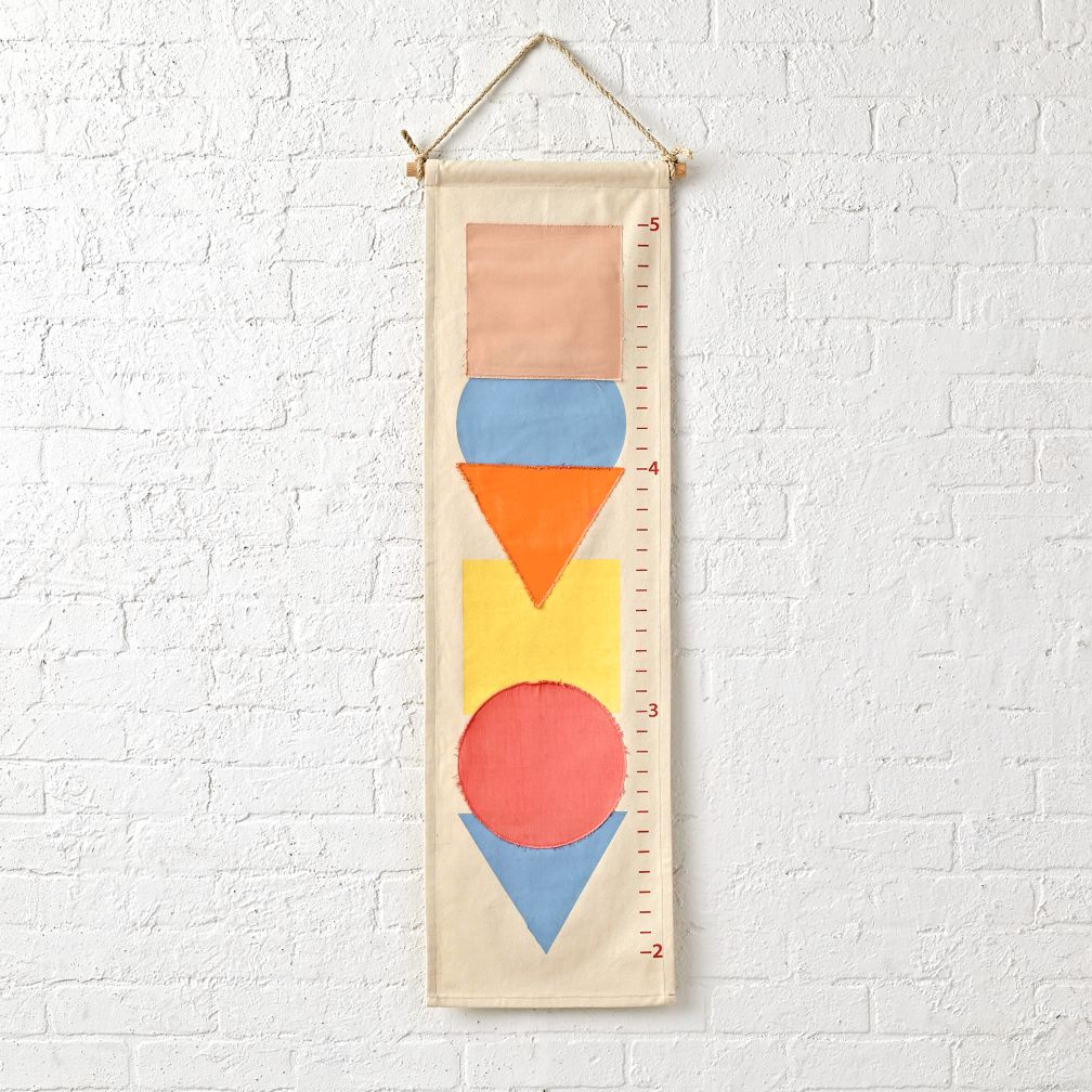 Simple Shapes Growth Chart