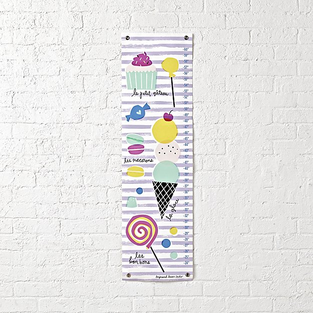 Sweet Treats Growth Chart