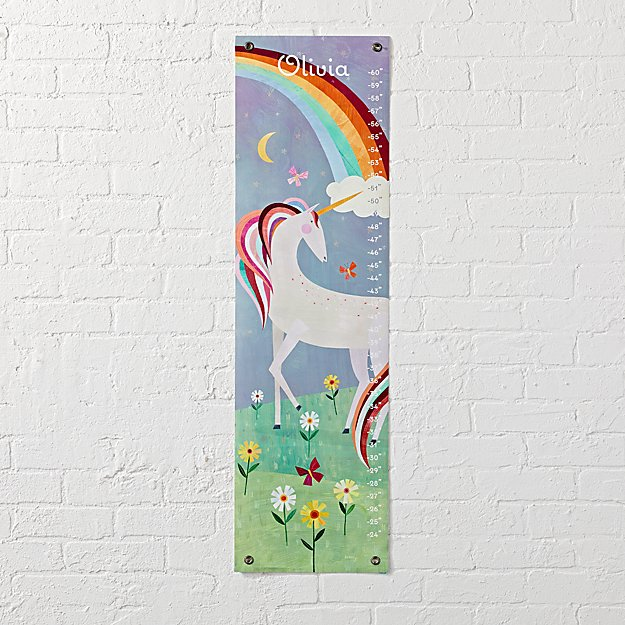 Unicorn Personalized Growth Chart