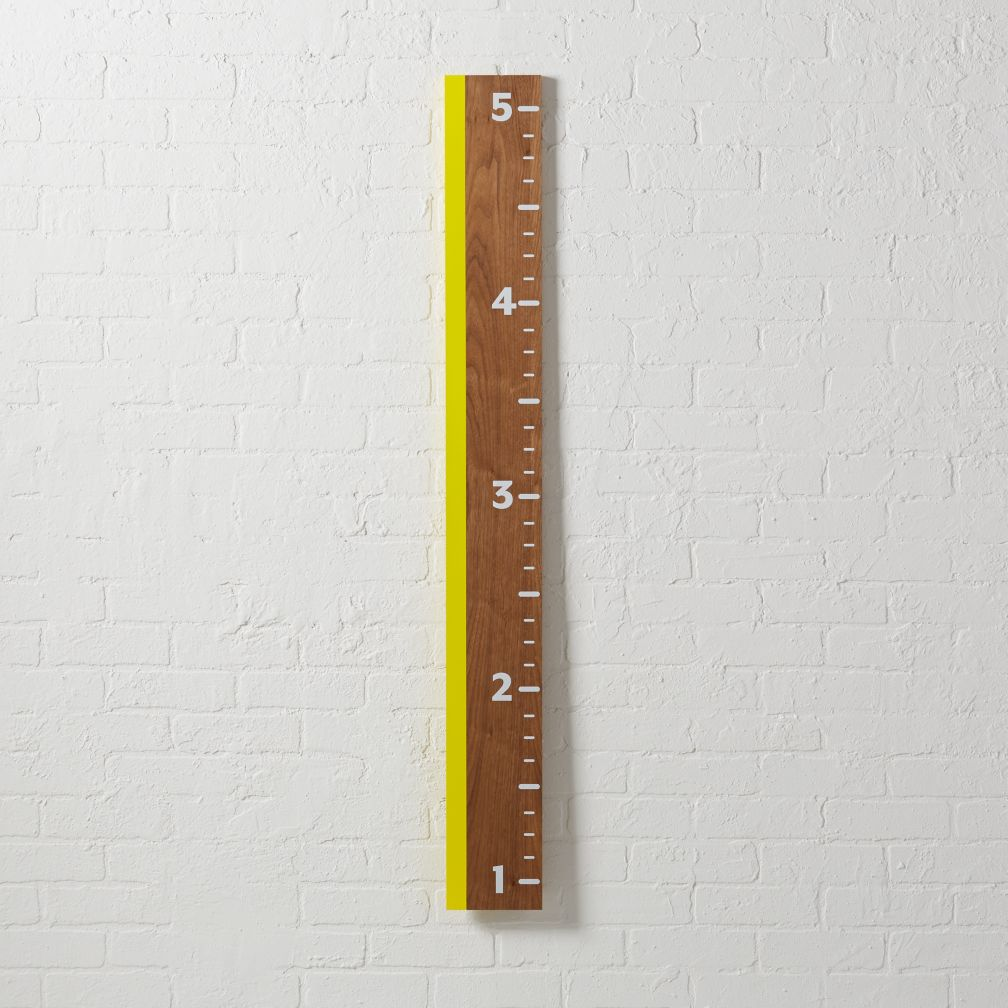 Inch on up yellow growth chart the land of nod