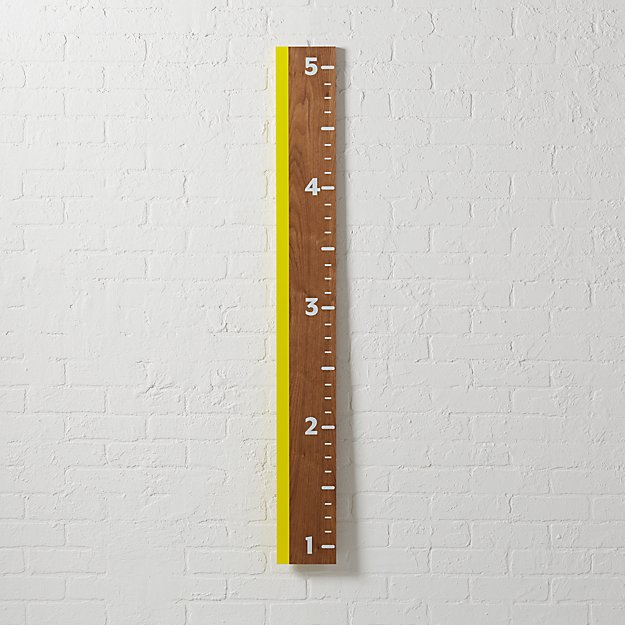 Inch on Up Yellow Growth Chart