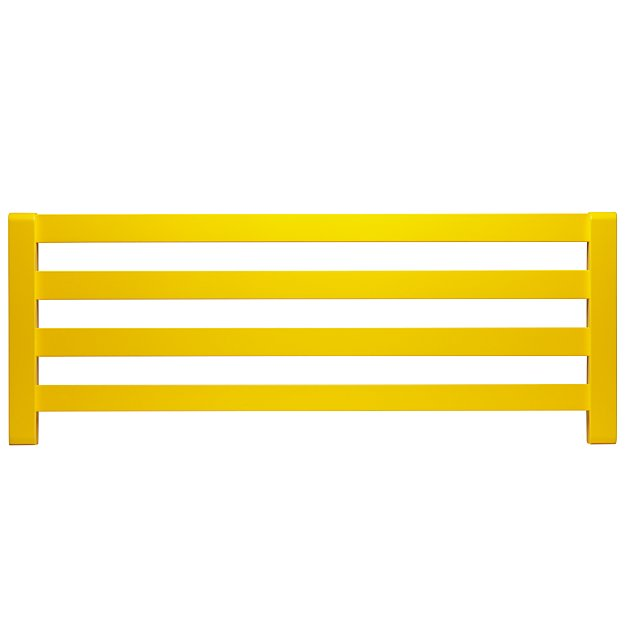 Jenny Lind Yellow Bed Guardrail