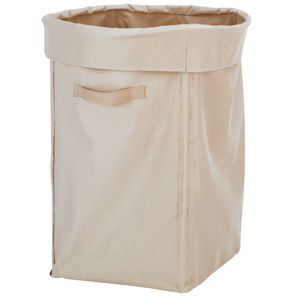 Blue I Think I Canvas Laundry Hamper | The Land of Nod