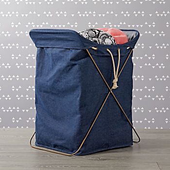 Denim Hamper