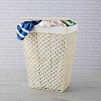 Hamper_White_Rope