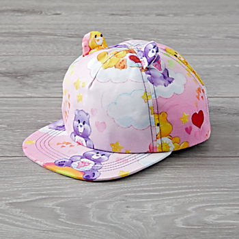 Baby Bling Care Bears Pink Hat