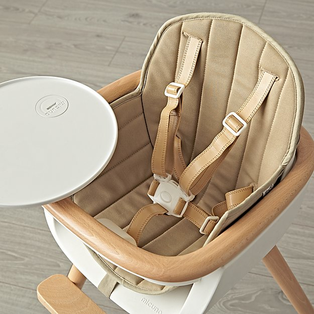 Khaki Ovo High Chair Cover