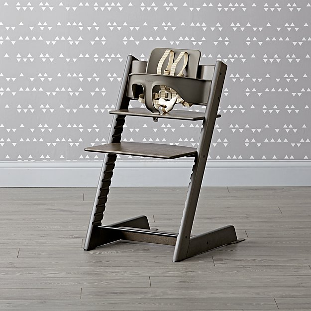 Hazy Grey Tripp Trapp® Chair and Baby Set™ from Stokke®