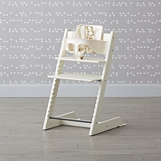 White Tripp Trapp® Chair and Baby Set™ from Stokke®