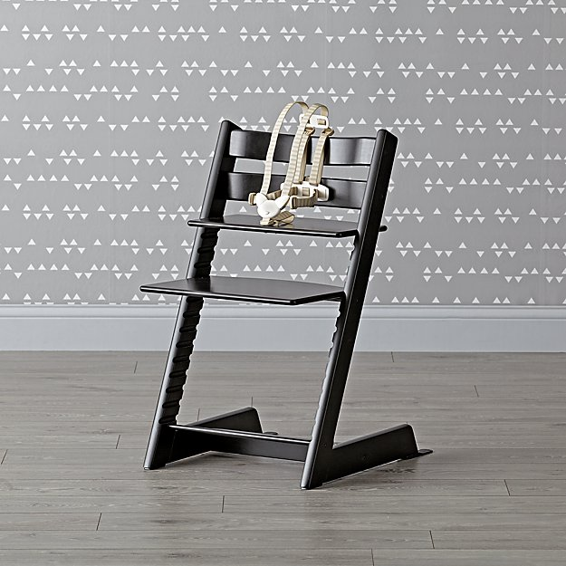 Black Tripp Trapp® High Chair from Stokke