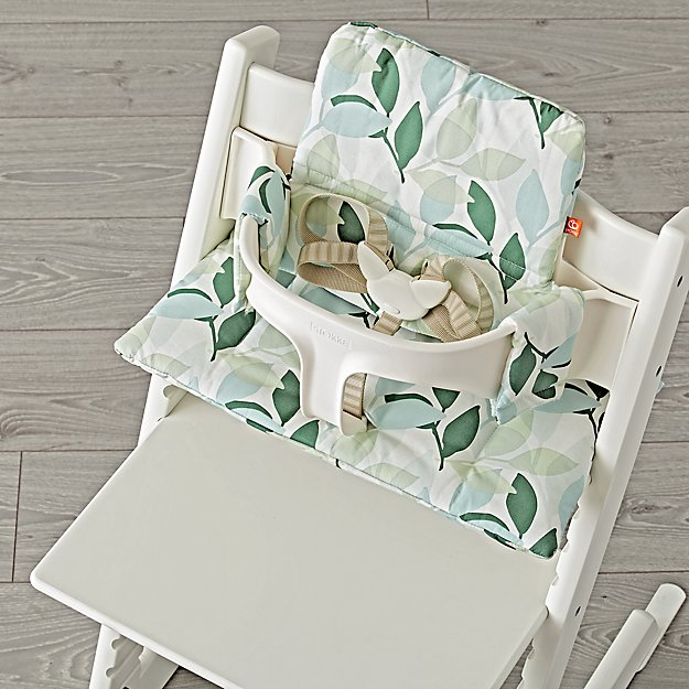 Tripp Trapp Green Forest Cushion From Stokke