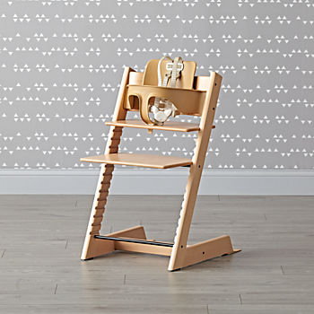 Natural Tripp Trapp® Chair and Baby Set™ from Stokke®