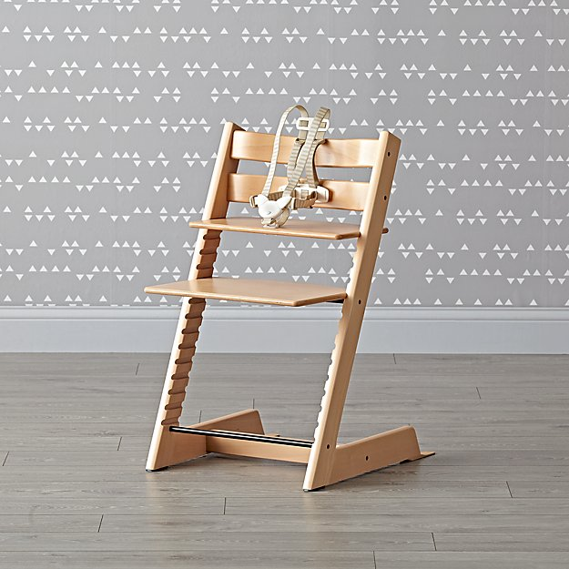 Natural Tripp Trapp® High Chair from Stokke®