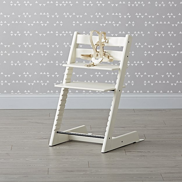 White Tripp Trapp® High Chair from Stokke®