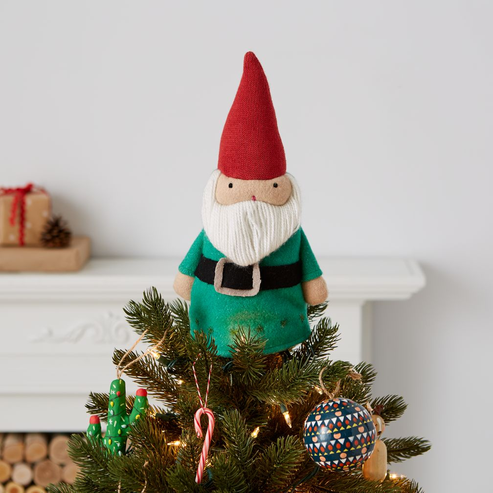 high point gnome tree topper - Christmas Tree Topper