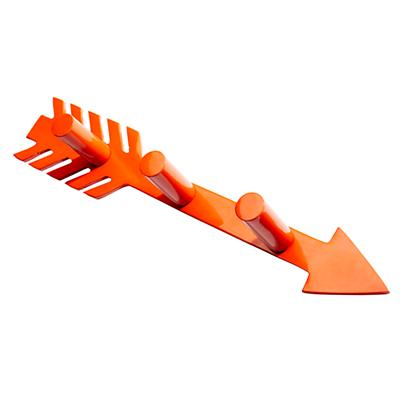 That-a-Way Wall Hook (Orange)