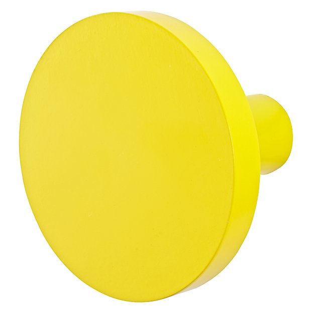 Can't Miss Wall Knob (Bright Yellow)