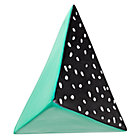 Green & Black Great Pyramid Wall Hook