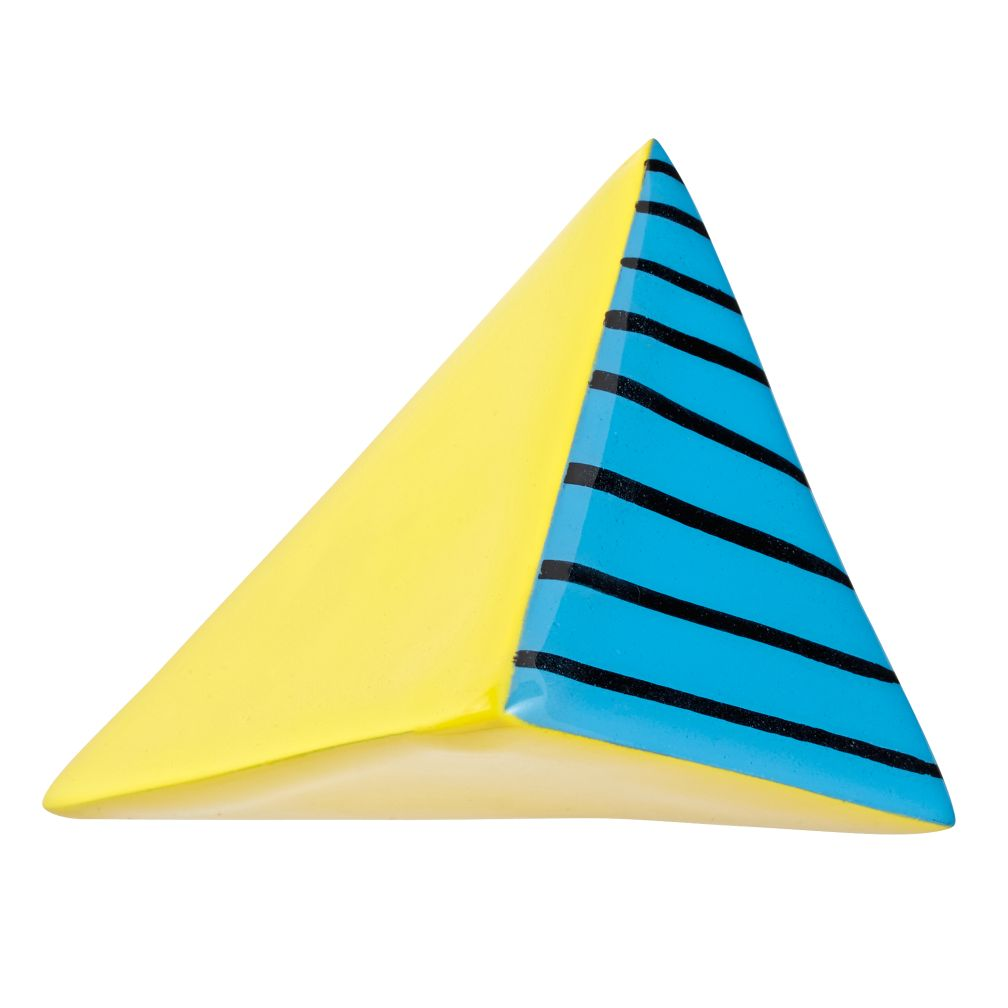 Great Pyramid Wall Hook (Yellow & Blue)
