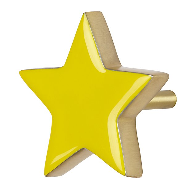 Twinkle Twinkle Wall Hook (Yellow)