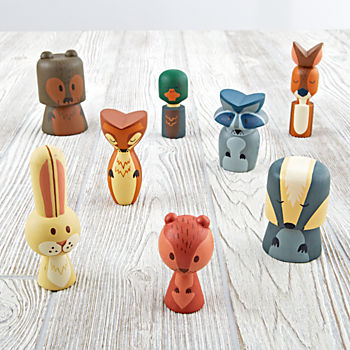 Camping Buddies (Set of 8)