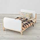 Mod Doll Bed with Cozy Industrial Bedding